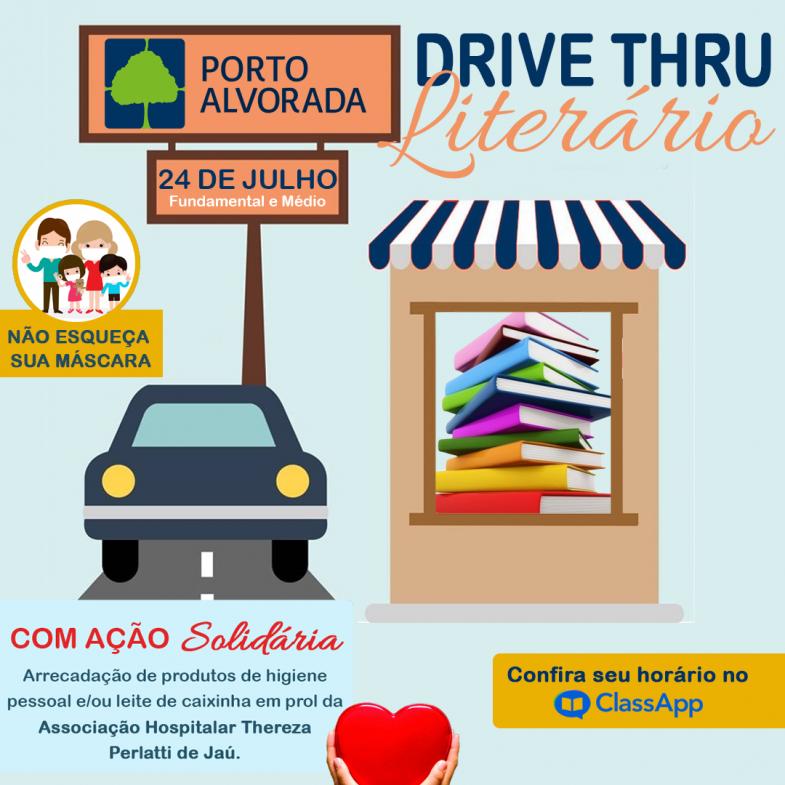 DRIVE THRU LITERÁRIO