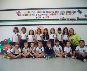 INÍCIO DAS AULAS (INFANTIL II - PROFESSORA PAULA)