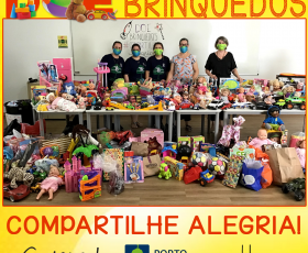 GRATIDÃO - DOAÇÃO DE BRINQUEDOS